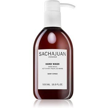 Sachajuan Shiny Citrus tekuté mýdlo na ruce 500 ml