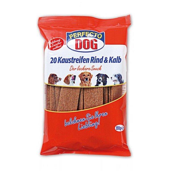 Perfecto Dog plátky hovězí+telecí 20ks