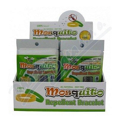 Mosquito náramek proti komárům různé barvy 1ks
