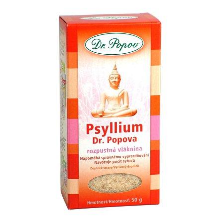 Psyllium indická rozpustná vláknina 50g Dr.Popov