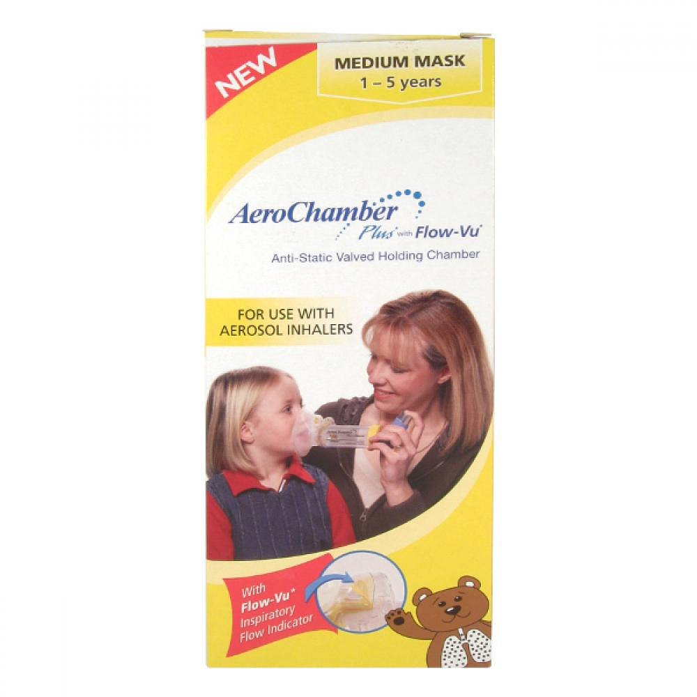 AeroChamber Plus s maskou pro děti 1 - 5 let