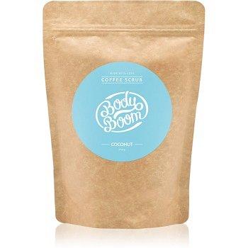 BodyBoom Coconut kávový tělový peeling 200 g