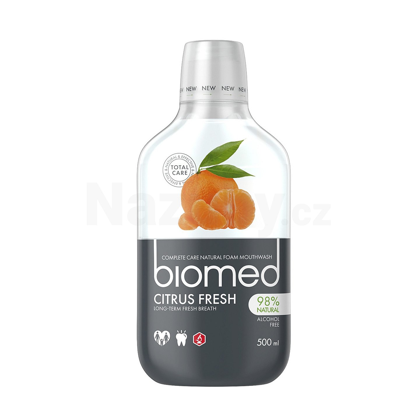 Biomed ústní voda Citrus Fresh 500 ml