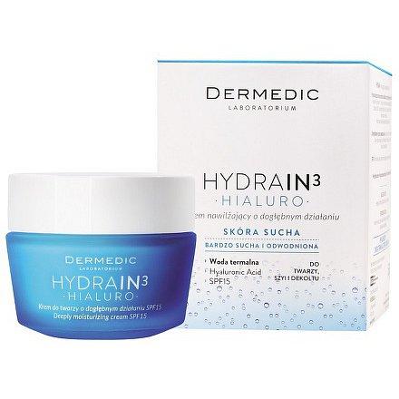 Dermedic Hydrain3 Hialuro hluboko hydrat. krém 50g