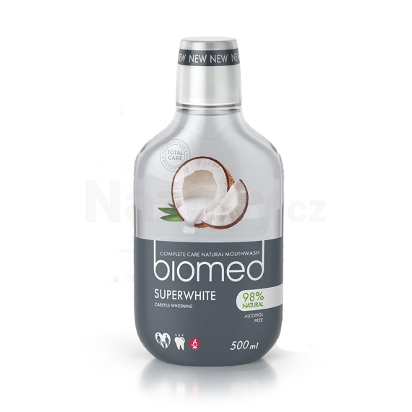 Biomed ústní voda Superwhite 500 ml