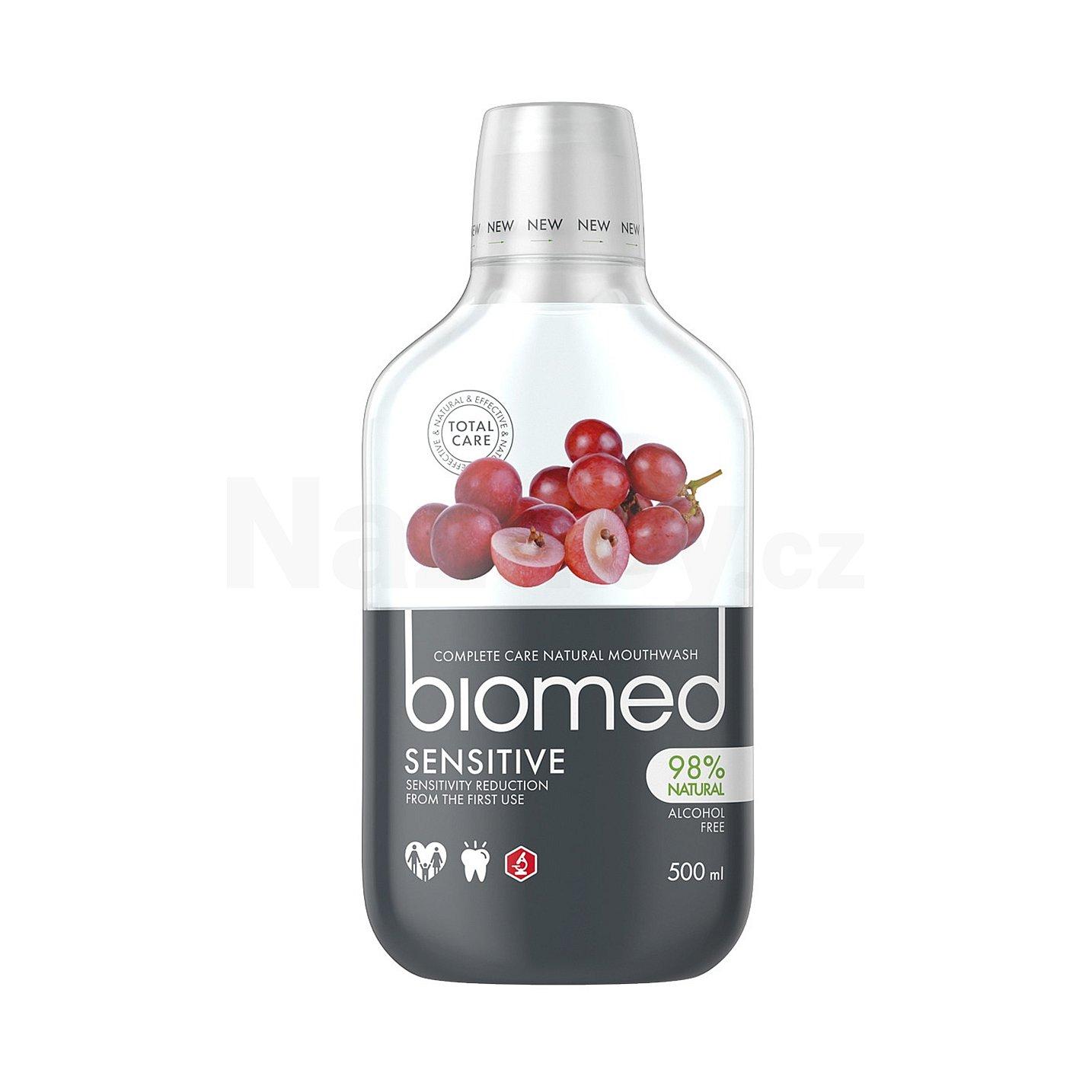 Biomed ústní voda Sensitive 500ml