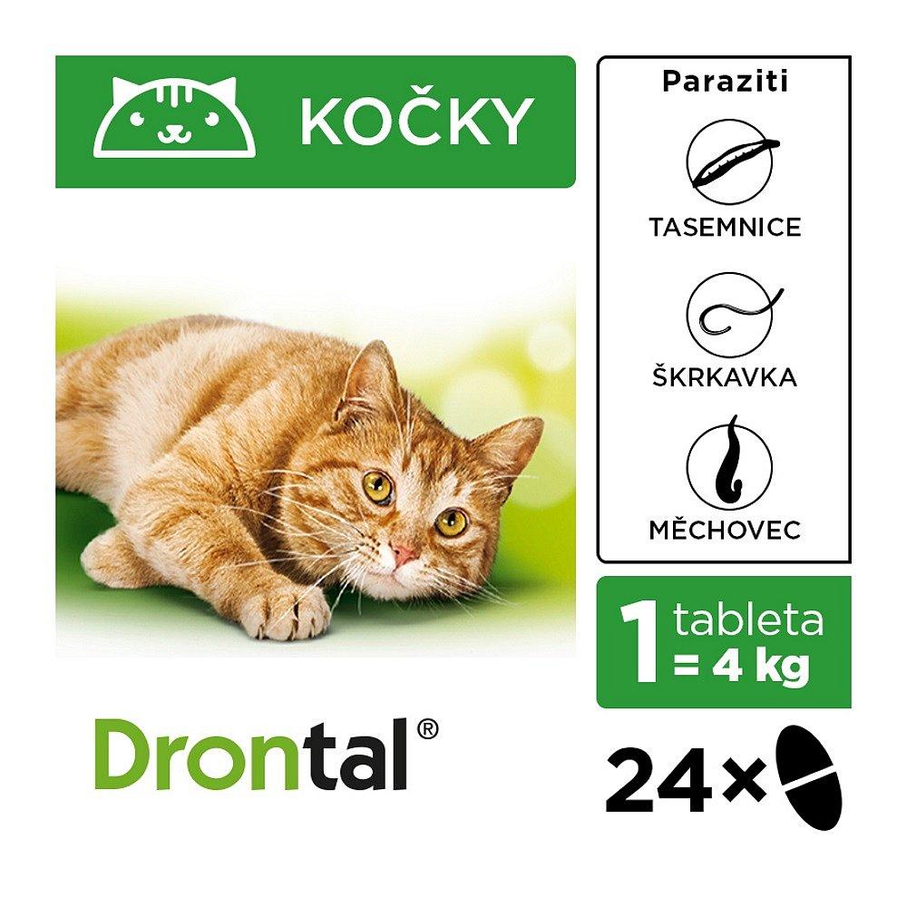 DRONTAL pro kočky 24 tablet