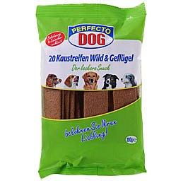 Perfecto Dog plátky zvířecí+drůbeží 20ks