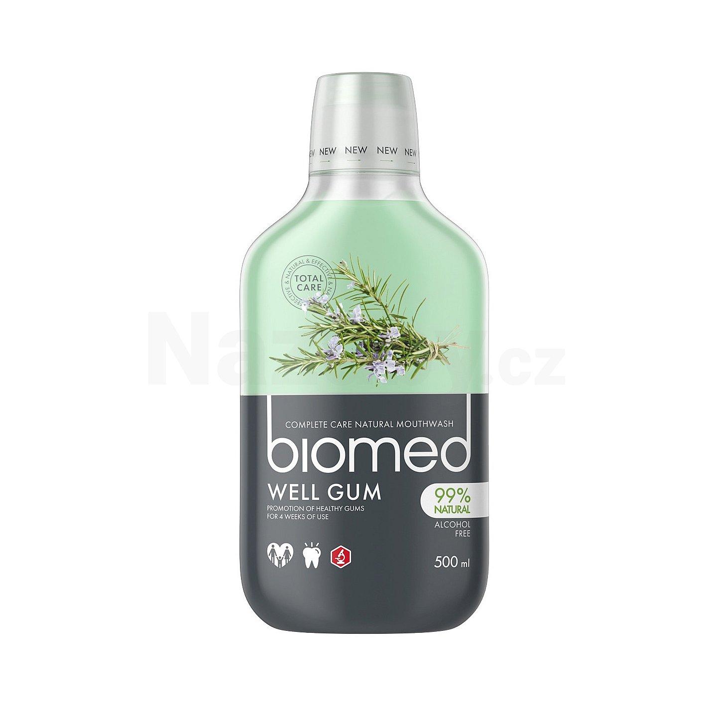 Biomed ústní voda Well Gum 500ml