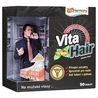 VitaHarmony VitaHair vlas. stimulátor muži tbl.90