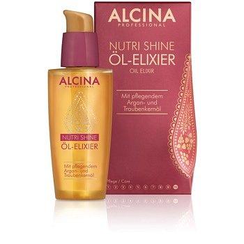 Alcina Nutri Shine olejový elixír pro lesklé a uhlazené vlasy  50 ml