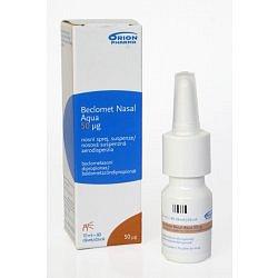 Beclomet Nasal Aqua 50 mcg nosní sprej suspenze 1 x 9 ml- 70 d