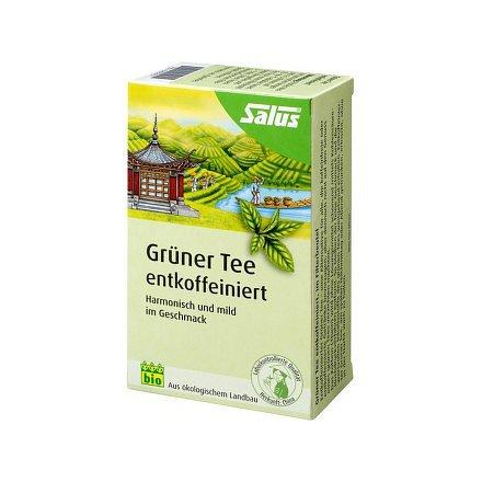 Bio Zelený čaj bez kofeinu 15 sáčků