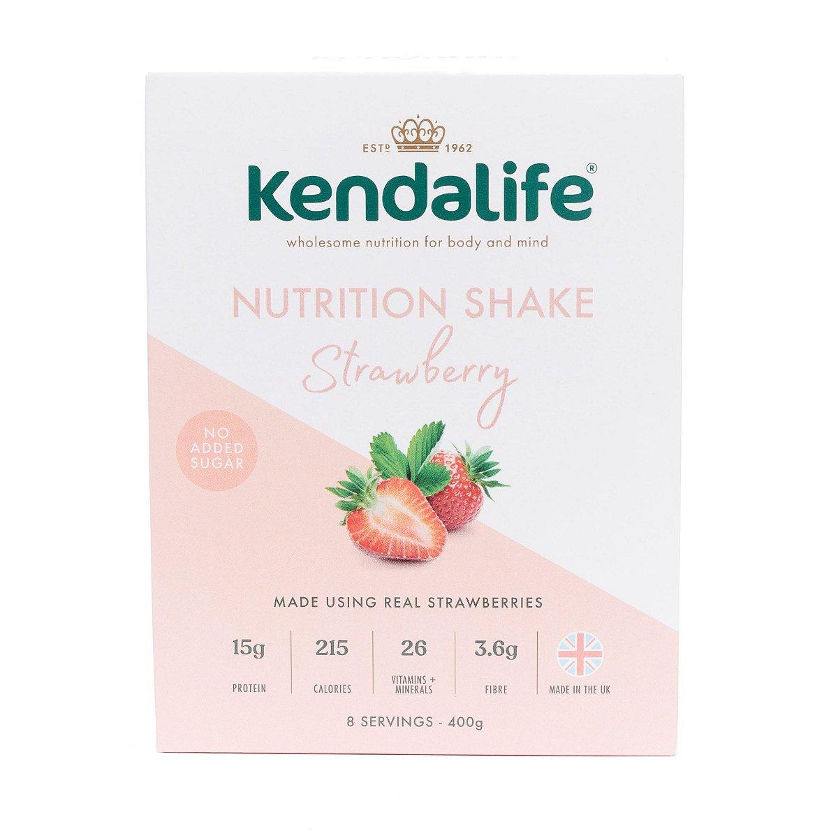 Kendalife Proteinový nápoj jahoda 8x50 g
