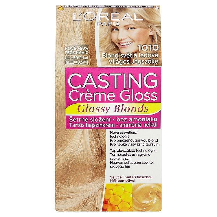 L'Oréal Paris Casting Crème Gloss Glossy Blonds  blond světlá ledová 1010