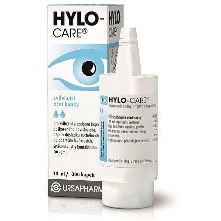 Hylo Care oční kapky 10ml (umělé slzy)