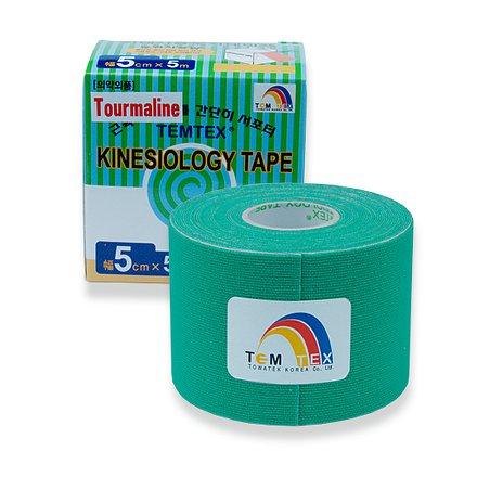 Tejp. TEMTEX kinesio tape Tourmaline zelená 5cmx5m