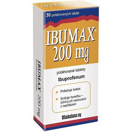 Ibumax 200 tablety 30ks