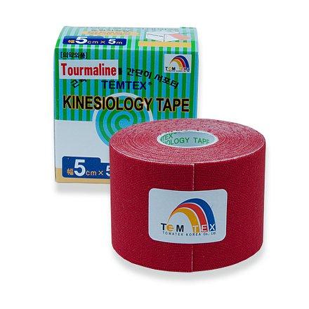 Tejp. TEMTEX kinesio tape Tourmaline červená 5cmx5m