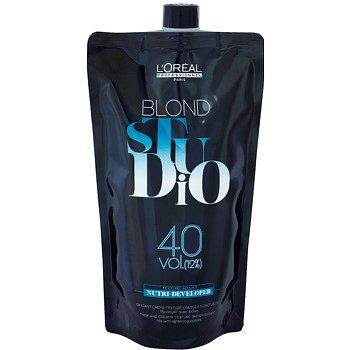 L'Oréal Professionnel Blond Studio Nutri Developer aktivační emulze 12 % 40 Vol. 1000 ml