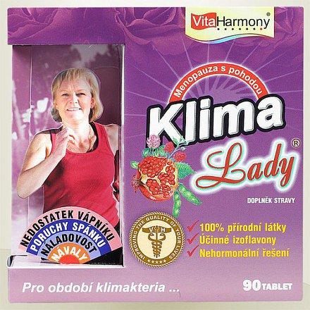 VitaHarmony KlimaLady pro potažené klimakteria tablety 90