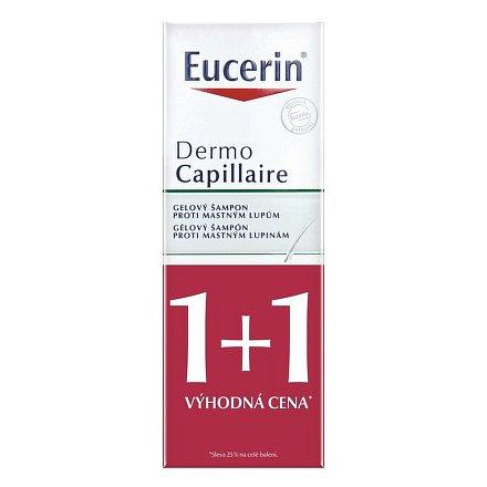 EUCERIN DermoCapillaire šampon proti mastným lupům 2x250ml