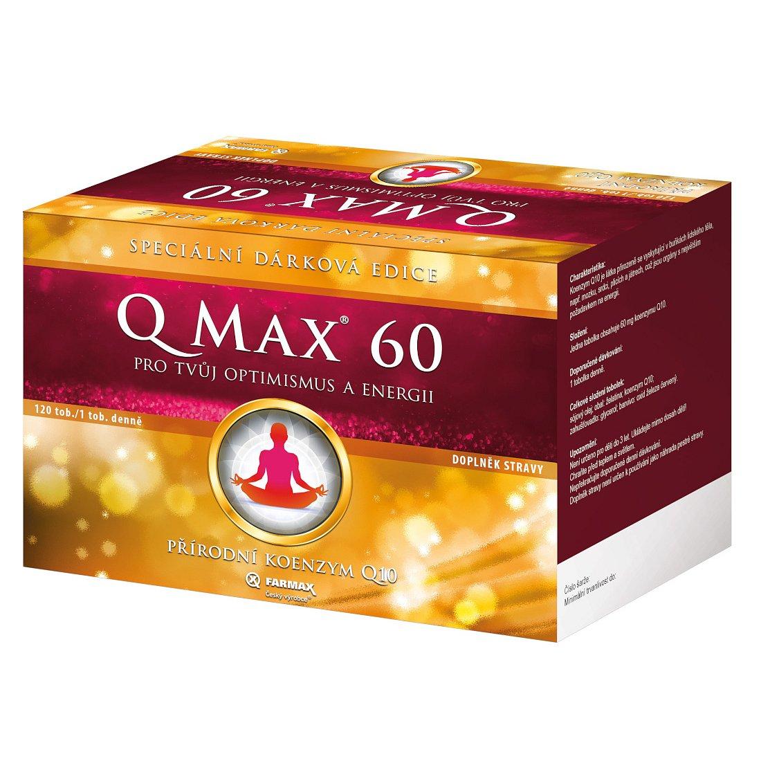 Q Max 60 dárkové balení 120 tobolek
