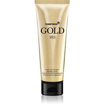 Tannymaxx Gold 999,9 opalovací krém do solária s bronzerem 125 ml