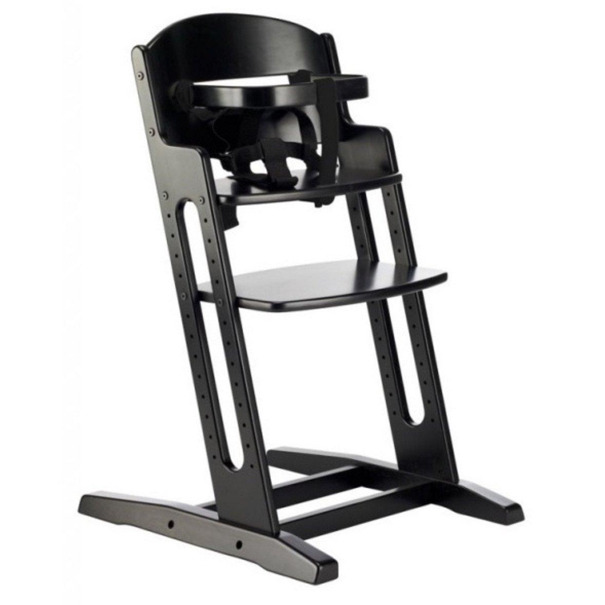 Babydan Rostoucí dřevěná židlička DanChair BLACK