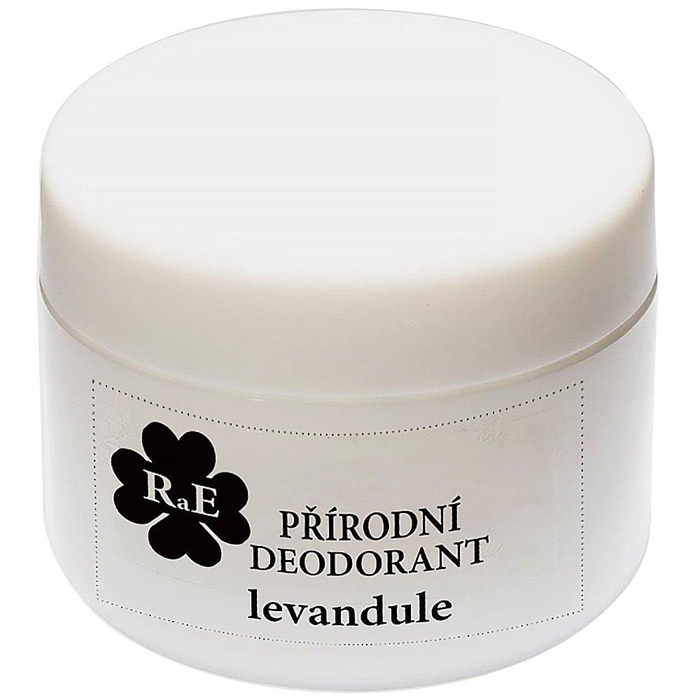 RAE Přírodní krémový deodorant levandule plastový kelímek 15 ml