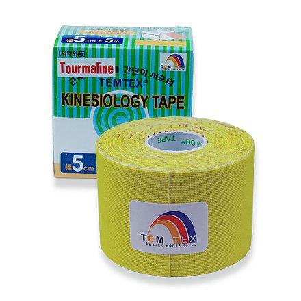 Tejp. TEMTEX kinesio tape Tourmaline žlutá 5cmx5m