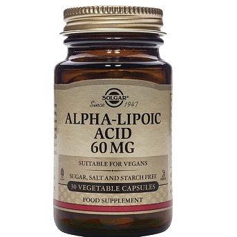 Ecce Vita Kyselina alfa lipová ALA 60mg 30ks