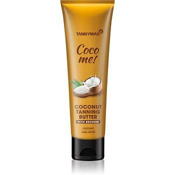 Tannymaxx Coco Me! Coconut tělové máslo s bronzerem na prodloužení opálení 150 ml