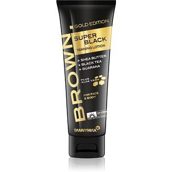 Tannymaxx Brown Super Black Gold Edition opalovací krém do solária pro podporu opálení 125 ml