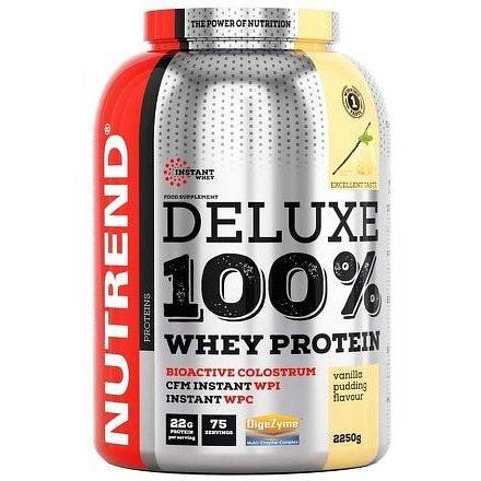 DELUXE 100% WHEY 2250 g pudinková vanilka
