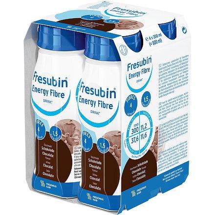 Fresubin energy fibre čokoláda perorální roztok  4 x 200 ml