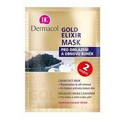 Gold Elixir mask Dermacol