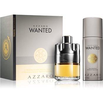 Azzaro Wanted dárková sada I.  toaletní voda 100 ml + deodorant ve spreji 150 ml