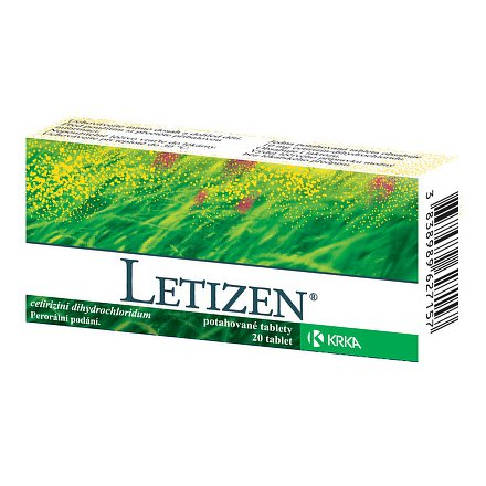 Letizen 20 tablet