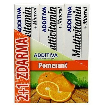 Additiva sada MM 2+1 pomeranč šum.tb.3x20ks