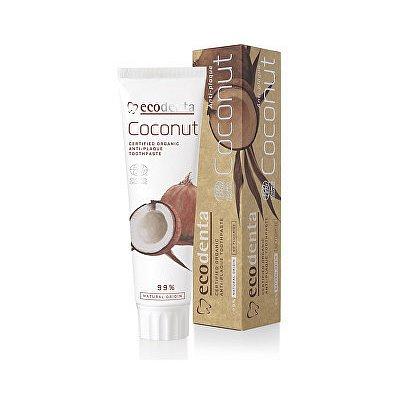 Ecodenta Zubní pasta proti zub.plaku kokos 100ml
