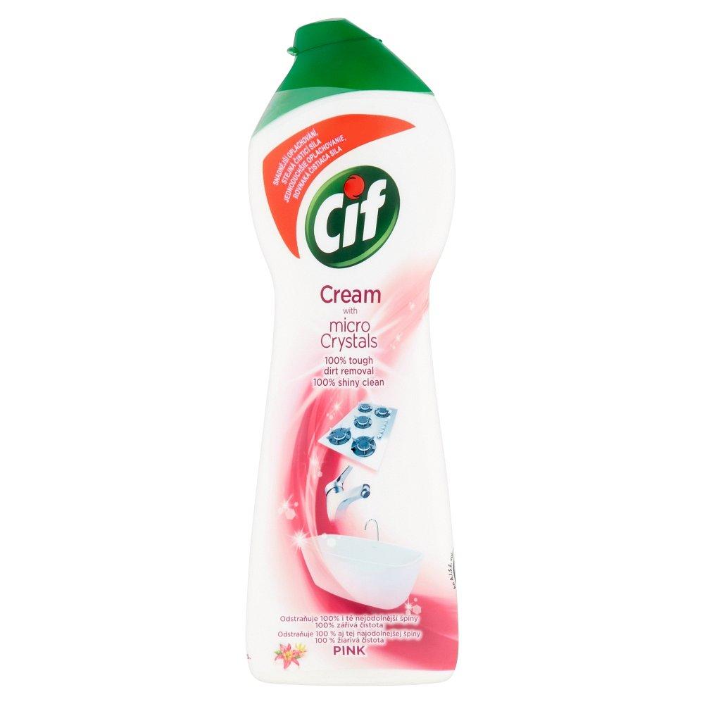 CIF Pink Flower čistící krém 250 ml
