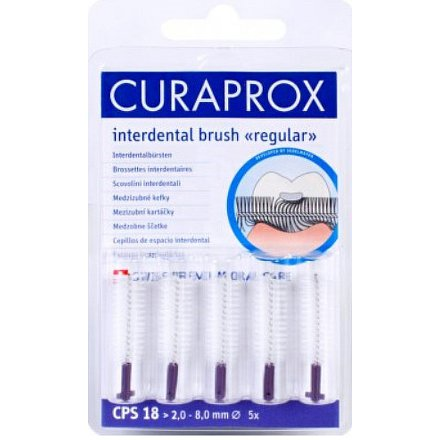 Curaprox CPS 18 regular mezizubní kartáček 5ks