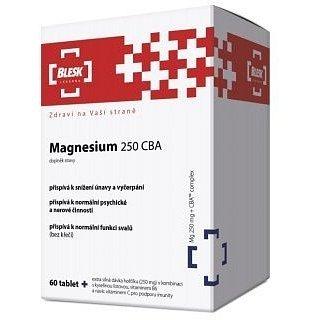 BLESK Magnesium 250 CBA tbl.60