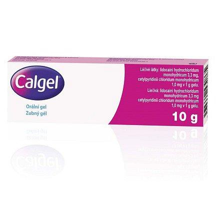 Calgel orální gel 1 x 10 g