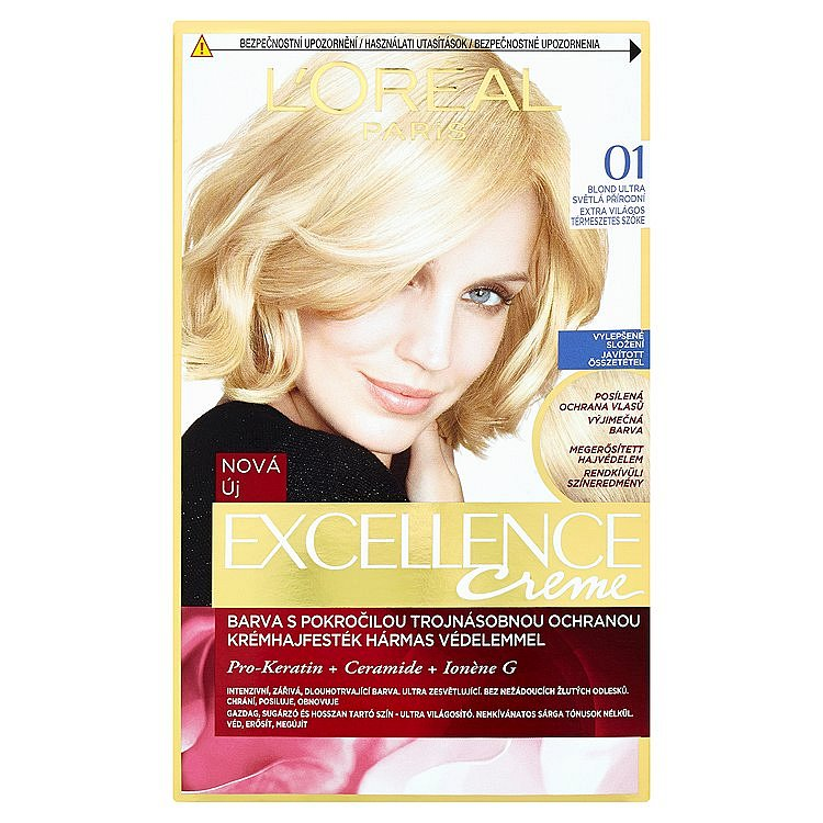 L'Oréal Paris Excellence Crème blond ultra světlá přírodní 01