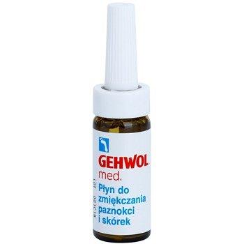 Gehwol Med změkčující péče na zarůstající nehty a silně zrohovatělou kuži na chodidlech  15 ml
