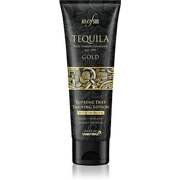 Tannymaxx Art Of Sun Tequila Gold opalovací krém do solária s bronzerem pro podporu opálení 125 ml
