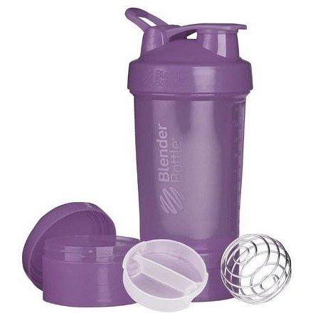 Blender Bottle Šejkr ProStak se zásobníkem 650ml Jméno: Šejkr ProStak se zásobníkem 650ml fialový