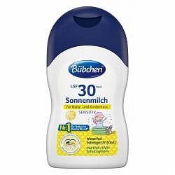 Bübchen Sensitive Opalovací mléko OF30 50 ml